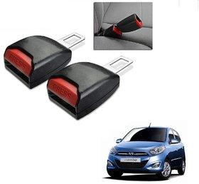 Auto Addict Car Seat Belt Extender Buckle Black Color Set of 2 Pcs For Hyundai i10