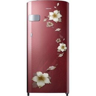 Samsung 212 L Direct Cool Single Door 3 Star Refrigerator   Star Flower Red, RR22N3Y2ZR2 HL/RR22M2Y2ZR2 NL