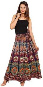 UniqChoice Women's Printed Multicolor Skirts