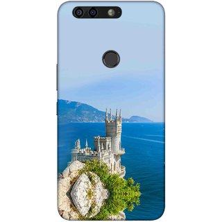 Digimate Printed Designer Soft Silicone TPU Mobile Back Case Cover For Infinix Zero 5 Design No. 1047