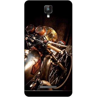 Digimate Printed Designer Soft Silicone TPU Mobile Back Case Cover For Intex Aqua Lions 2 Design No. 0212