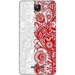 Digimate Printed Designer Soft Silicone TPU Mobile Back Case Cover For Intex Aqua Lions 2 Design No. 0661
