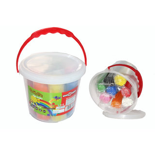 EDEAL Clay Balti 8 Different Colours 700gm for Kids/Teens-Non Toxic