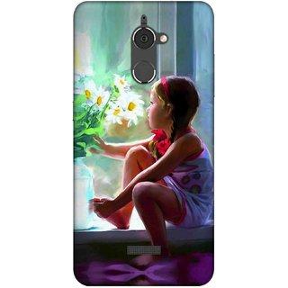 Digimate Printed Designer Soft Silicone TPU Mobile Back Case Cover For Coolpad Note 5 Lite Design No. 0757