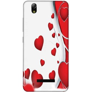 the best attitude 02965 c93a1 Digimate Printed Designer Soft Silicone TPU Mobile Back Case Cover For  GIONEE P5L Design No. 0398