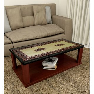 LooMantha Multicolor Silk 4 Seater Table Runner