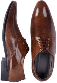 Aadi Men Brown Formal Shoes