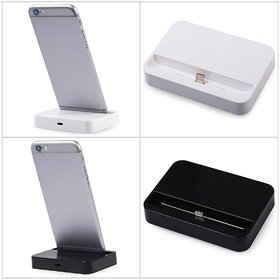 Charger Docking Station, Compatible with  5  5s 5c, 6, 6s 7 (Black color)