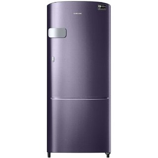 Samsung 192 L 5 Star Direct Cool Single Door Refrigerator RR20M1Y2XUT, Pebble Blue, Inverter Compressor