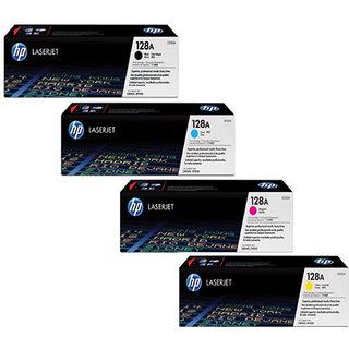 HP 128A TonerCartridge 4 PACK (  CE320A,  CE321A , CE322A , CE323A )