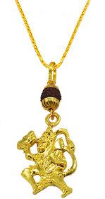 Sullery Pawan Putra Gadhadhari Jai Veer Hanuman Locket With Chain