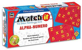 Virgo Toys Match It Alpha Numero