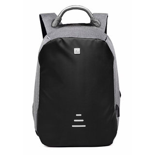 729ee0e56f9074 VIVA Space Anti Theft Backpack SP-1003 Design with Hidden Zippers and USB  Charging Headphone