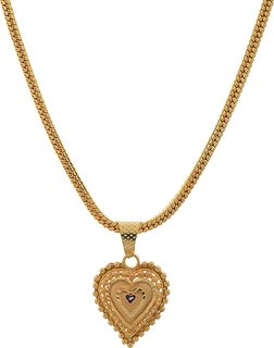 Jewar Mandi Chain 24 inch Gold Plated with Golden Locket Real Look Stylish New Jewelry for Women Girls