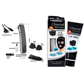 ELEGANCIO 216 Trimmer With Charcoal Mask Multi-grooming Kit ( Multi color )