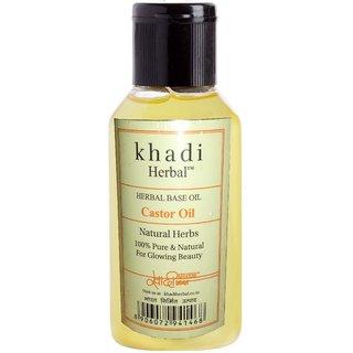 Khadi Castor oil for Hair Growth ( 100ml ) Pack of 1
