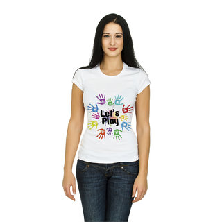 ccbb37ca136ec Buy Demokrazy girls holi t-shirt Online - Get 78% Off