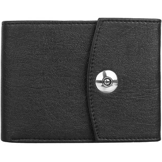 3 Bros Stylish Wallet for Men (Black)