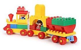 Virgo Toys Play blocks Junior train set