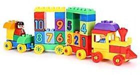 Virgo Toys Play blocks Number train set