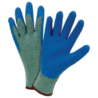 DIY Crafts Latex Coated String Knit Medium Multi-Purpose Gloves Do It YourSelfn