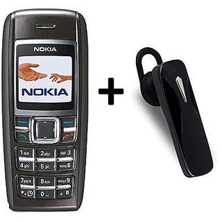 Refurbished Nokia 1600 Single Sim With Bluetooth Feature Phone (6 Months Warranty By Warranty Bazaar)