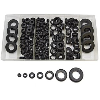 DIY Crafts Repair 180Pc Rubber Grommet Assortment Do It Your Self Works Anytime