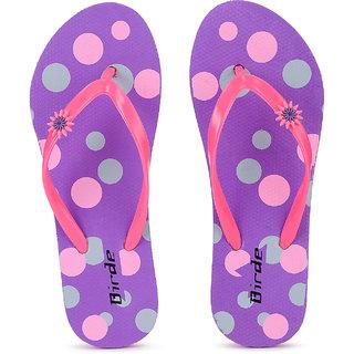 Birde Multicolor Hawai Slipper For Women