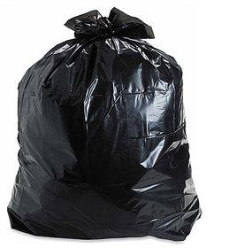 Ezzideals Plastic 300Pieces Dustbin Bag Disposable Black (19X21 Inch)