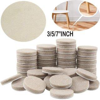 DIY Crafts Felt Pad Self Adhesive for Wood Floor Protectors Hardwood Laminate Flooring Furniture Scratches & Linen (20pcs)