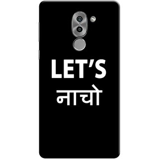 Digimate Printed Designer Soft Silicone TPU Mobile Back Case Cover For Huawei Honor 6X Design No. 0606