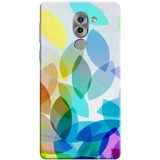 Digimate Printed Designer Soft Silicone TPU Mobile Back Case Cover For Huawei Honor 6X Design No. 1018