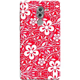 Digimate Printed Designer Soft Silicone TPU Mobile Back Case Cover For Huawei Honor 6X Design No. 0631