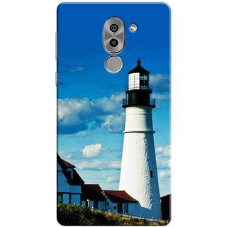Digimate Printed Designer Soft Silicone TPU Mobile Back Case Cover For Huawei Honor 6X Design No. 1032