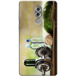 Digimate Printed Designer Soft Silicone TPU Mobile Back Case Cover For Huawei Honor 6X Design No. 1039