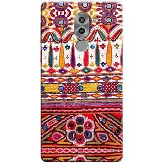 Digimate Printed Designer Soft Silicone TPU Mobile Back Case Cover For Huawei Honor 6X Design No. 0640