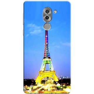 Digimate Printed Designer Soft Silicone TPU Mobile Back Case Cover For Huawei Honor 6X Design No. 0262