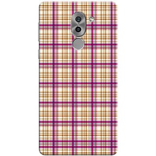 Digimate Printed Designer Soft Silicone TPU Mobile Back Case Cover For Huawei Honor 6X Design No. 0643