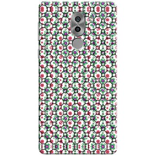 Digimate Printed Designer Soft Silicone TPU Mobile Back Case Cover For Huawei Honor 6X Design No. 0645