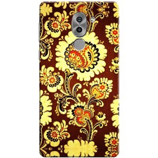 Digimate Printed Designer Soft Silicone TPU Mobile Back Case Cover For Huawei Honor 6X Design No. 0646