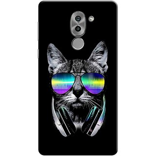 Digimate Printed Designer Soft Silicone TPU Mobile Back Case Cover For Huawei Honor 6X Design No. 1046