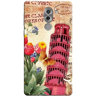 Digimate Printed Designer Soft Silicone TPU Mobile Back Case Cover For Huawei Honor 6X Design No. 0270