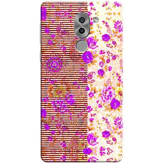 Digimate Printed Designer Soft Silicone TPU Mobile Back Case Cover For Huawei Honor 6X Design No. 0652