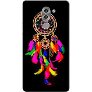 Digimate Printed Designer Soft Silicone TPU Mobile Back Case Cover For Huawei Honor 6X Design No. 1052