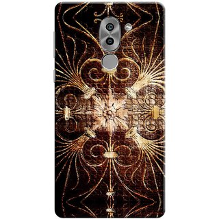Digimate Printed Designer Soft Silicone TPU Mobile Back Case Cover For Huawei Honor 6X Design No. 0655