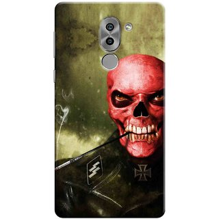 Digimate Printed Designer Soft Silicone TPU Mobile Back Case Cover For Huawei Honor 6X Design No. 0287