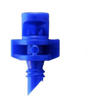 DIY Crafts 90 Degree Blue Spray Misting Nozzle Sprinkler Irrigation System (Pack of 21 Pc)
