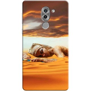 Digimate Printed Designer Soft Silicone TPU Mobile Back Case Cover For Huawei Honor 6X Design No. 1068