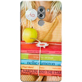 Digimate Printed Designer Soft Silicone TPU Mobile Back Case Cover For Huawei Honor 6X Design No. 1114