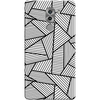 Digimate Printed Designer Soft Silicone TPU Mobile Back Case Cover For Huawei Honor 6X Design No. 0343